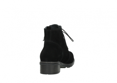 wolky lace up boots 04476 bunda 40000 black suede_8