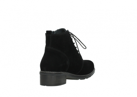 wolky lace up boots 04476 bunda 40000 black suede_9
