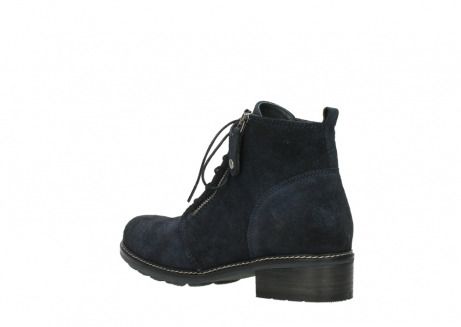 wolky lace up boots 04476 bunda 48800 blue suede_4