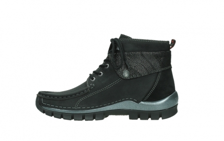 wolky lace up boots 04725 jump winter 14000 black palmmetal suede_13
