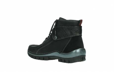 wolky lace up boots 04725 jump winter 14000 black palmmetal suede_16