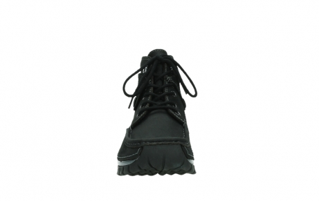 wolky lace up boots 04725 jump winter 14000 black palmmetal suede_7