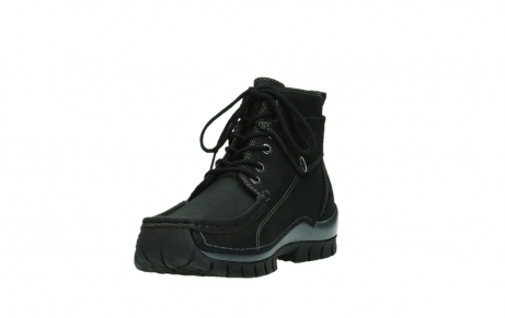 wolky lace up boots 04725 jump winter 14000 black palmmetal suede_9