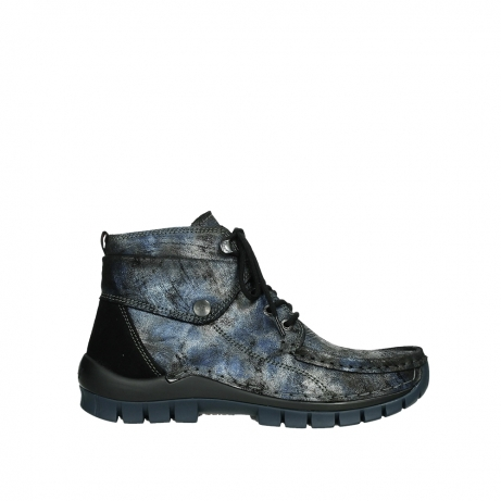 wolky veterboots 04725 jump winter 46800 blauw suede