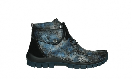 wolky veterboots 04725 jump winter 46800 blauw suede_1
