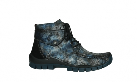 wolky veterboots 04725 jump winter 46800 blauw suede_2