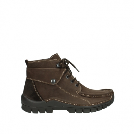 wolky lace up boots 04725 jump winter 50300 brown oiled nubuck