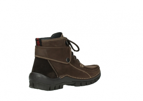 wolky lace up boots 04725 jump winter 50300 brown oiled nubuck_10