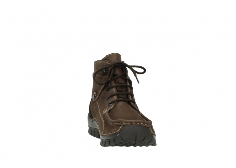 wolky lace up boots 04725 jump winter 50300 brown oiled nubuck_18