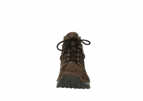 wolky lace up boots 04725 jump winter 50300 brown oiled nubuck_19