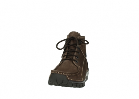 wolky lace up boots 04725 jump winter 50300 brown oiled nubuck_20
