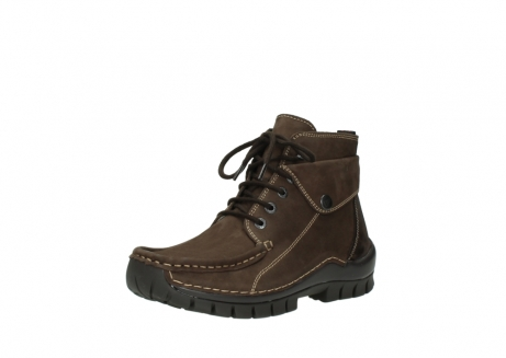 wolky lace up boots 04725 jump winter 50300 brown oiled nubuck_22
