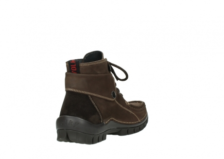 wolky lace up boots 04725 jump winter 50300 brown oiled nubuck_9