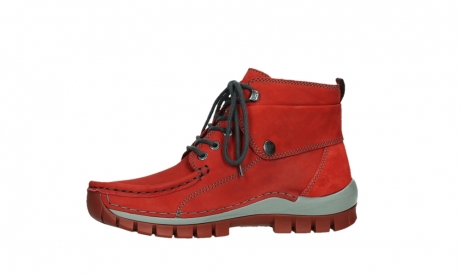 wolky lace up boots 04725 jump winter 50505 dark red oiled leather_12
