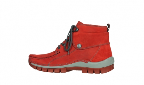 wolky lace up boots 04725 jump winter 50505 dark red oiled leather_14