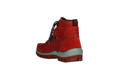wolky lace up boots 04725 jump winter 50505 dark red oiled leather_17