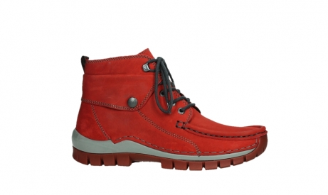 wolky lace up boots 04725 jump winter 50505 dark red oiled leather_2