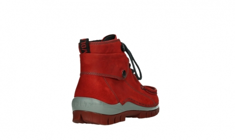 wolky lace up boots 04725 jump winter 50505 dark red oiled leather_21