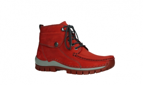 wolky lace up boots 04725 jump winter 50505 dark red oiled leather_3