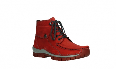 wolky lace up boots 04725 jump winter 50505 dark red oiled leather_4
