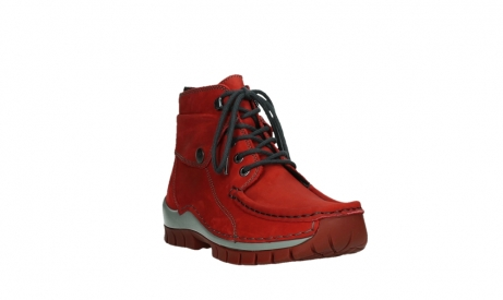 wolky lace up boots 04725 jump winter 50505 dark red oiled leather_5