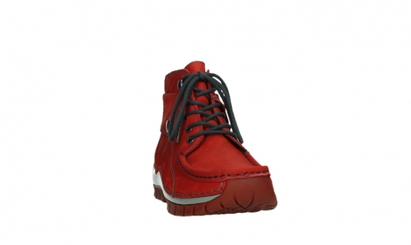 wolky lace up boots 04725 jump winter 50505 dark red oiled leather_6