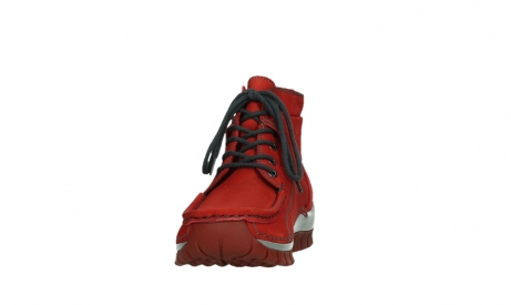 wolky lace up boots 04725 jump winter 50505 dark red oiled leather_8
