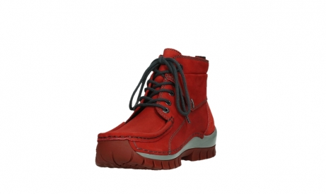 wolky lace up boots 04725 jump winter 50505 dark red oiled leather_9