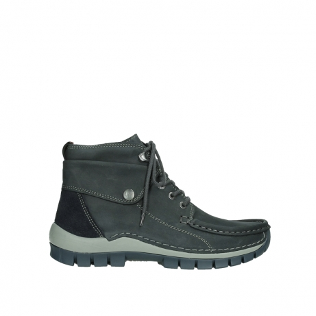 wolky lace up boots 04725 jump winter 50810 grey blue oiled nubuck