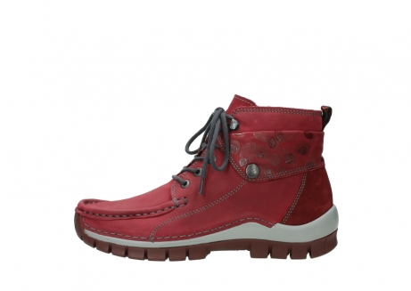 wolky bottines a lacets 04725 jump winter 59530 cuir bordeaux_1