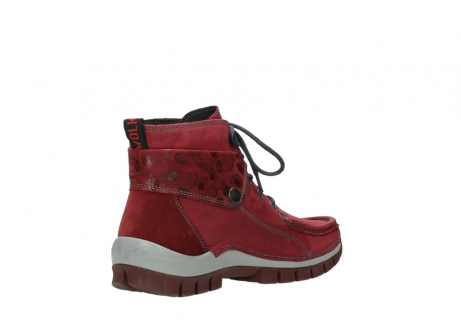 wolky bottines a lacets 04725 jump winter 59530 cuir bordeaux_10
