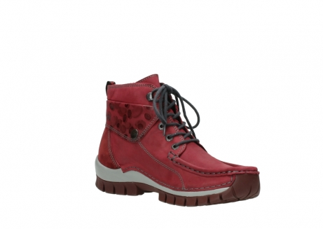 wolky bottines a lacets 04725 jump winter 59530 cuir bordeaux_16