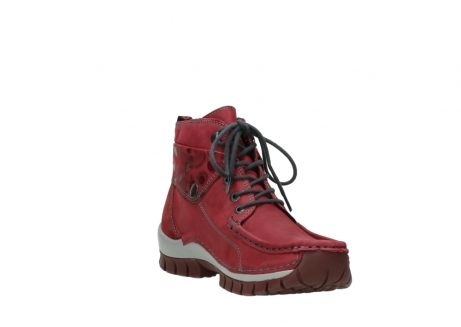 wolky bottines a lacets 04725 jump winter 59530 cuir bordeaux_17