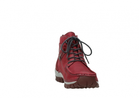wolky bottines a lacets 04725 jump winter 59530 cuir bordeaux_18