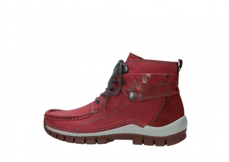 wolky bottines a lacets 04725 jump winter 59530 cuir bordeaux_2