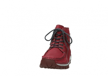 wolky bottines a lacets 04725 jump winter 59530 cuir bordeaux_20