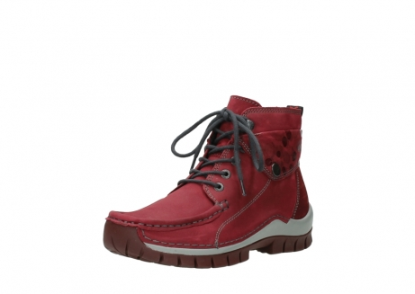 wolky bottines a lacets 04725 jump winter 59530 cuir bordeaux_22