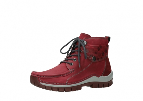 wolky bottines a lacets 04725 jump winter 59530 cuir bordeaux_23