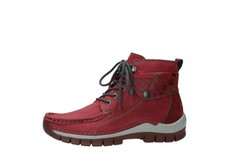 wolky bottines a lacets 04725 jump winter 59530 cuir bordeaux_24