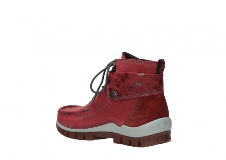 wolky bottines a lacets 04725 jump winter 59530 cuir bordeaux_4