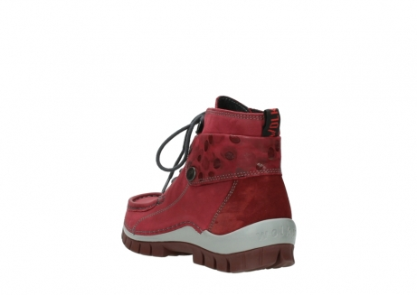 wolky bottines a lacets 04725 jump winter 59530 cuir bordeaux_5
