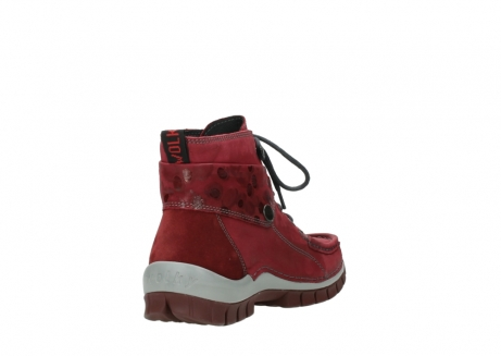 wolky lace up boots 04725 jump winter 59530 oxblood leather_9