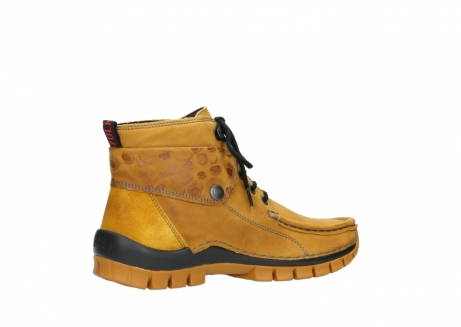 wolky bottines a lacets 04725 jump winter 59930 cuir jaune curry_11