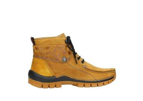 wolky bottines a lacets 04725 jump winter 59930 cuir jaune curry_12