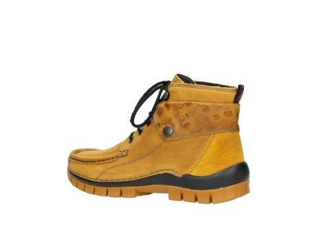 wolky bottines a lacets 04725 jump winter 59930 cuir jaune curry_3