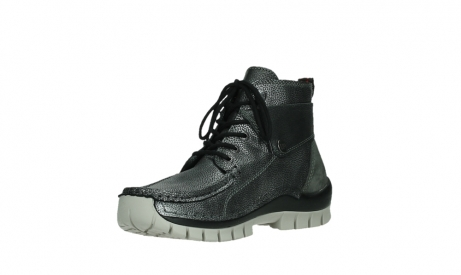 wolky lace up boots 04725 jump winter 81280 metal grey leather_10