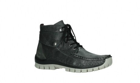 wolky lace up boots 04725 jump winter 81280 metal grey leather_3