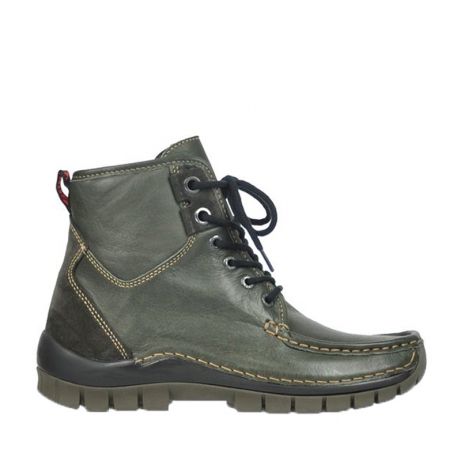 wolky lace up boots 04727 dive winter 20220 smog leather