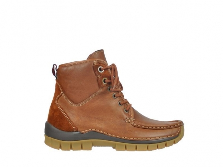 wolky lace up boots 04727 dive winter 20430 cognac leather