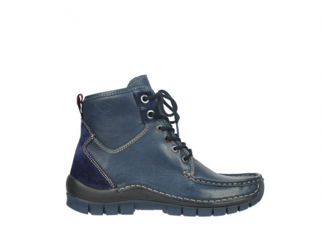 wolky lace up boots 04727 dive winter 20800 dark blue leather